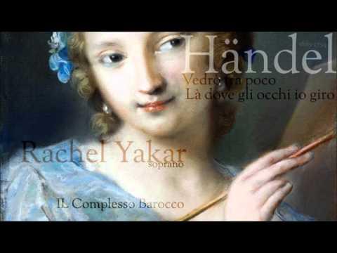 """Händel  Aria's from """"Admeto, Re di Tessaglia"""" - Rachel Yakar - soprano"""
