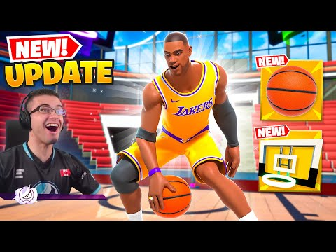 Nick Eh 30 reacts to NBA in Fortnite + Dualies unvaulted!