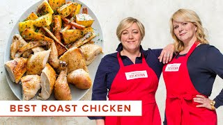 How to Make the Best Roast Chicken with Root Vegetables