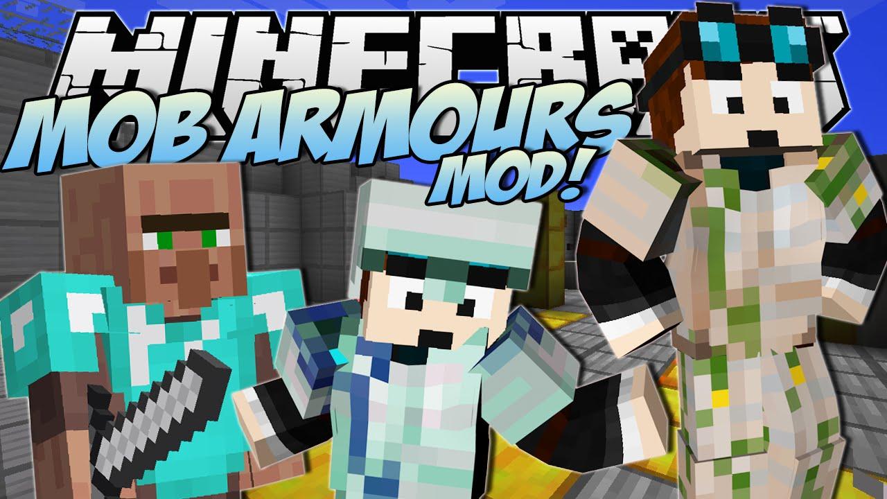 Minecraft Mob Armours Mod Meet Papa Trayaurus Mod Showcase Youtube