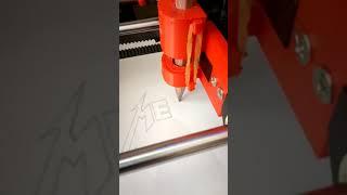 Pen Plotter from 3D Printer Anet A6 - Anet A6 3D Yazıcıyı Kalem Yazıcıya Dönüştürmek