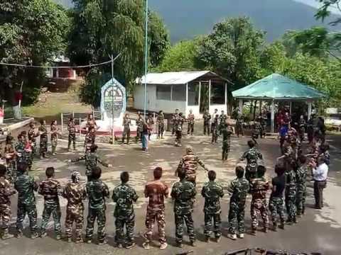 Kuki National Front in Revival Camp hlawtling takin an hmang (Video)