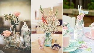 ❤DIY Rustic Shabby chic style Milk bottle decor Ideas❤ | Home decor & Recycle Ideas| Flamingo Mango