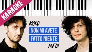 Ermal Meta & Fabrizio Moro   Non Mi Avete Fatto Niente   SANREMO 2018 // Piano Karaoke con Testo