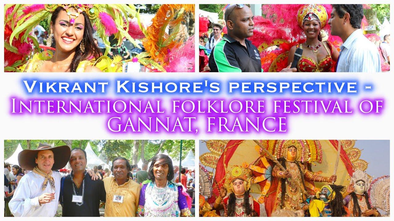 Vikrant's Message for Gannat Festival, France 2020