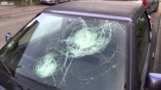 Hailstorm in Germany 6.8.2013