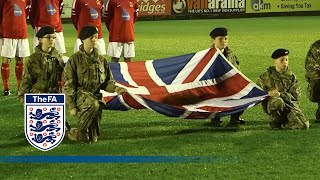 British army beat Germany army in
