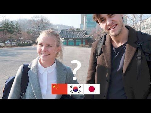 외국인이 한국인, 중국인, 일본인을 구별하는 법?! How to Distinguish Korean, Chinese, and Japanese?