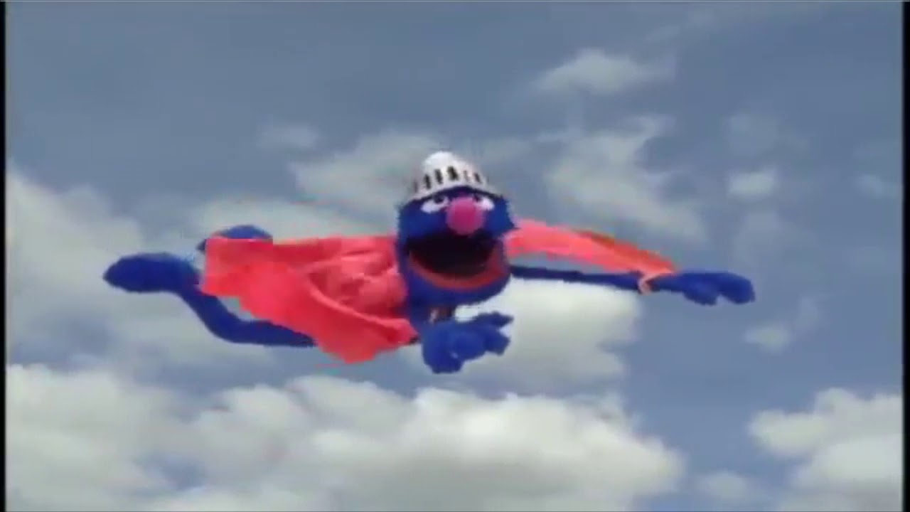 Muppet Songs: Super Grover - What's the Name of That Song? - YouTube