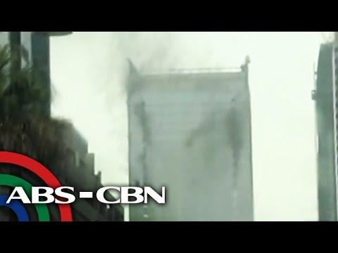 Ginagawang gusali sa BGC nasunog