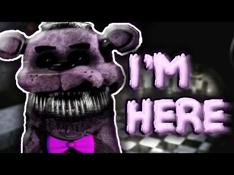 Fredbear In FNAF 2 || Five Nights At Freddy's 1 - 4