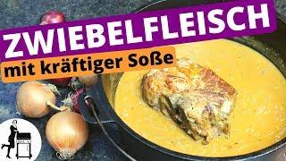 Zwiebelfleisch aus dem Dutch Oven - kräftiges & würziges Rezept