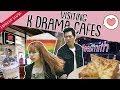 VISITING K-DRAMA CAFES   Eatbook Vlogs   EP 79
