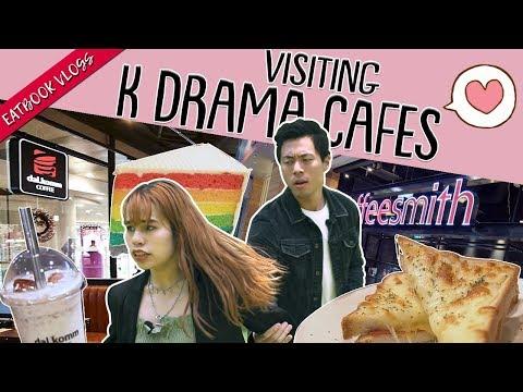 VISITING K-DRAMA CAFES | Eatbook Vlogs | EP 79