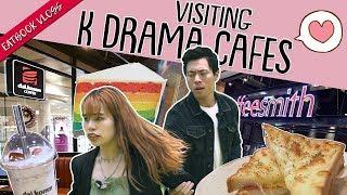 We Visited K-Drama Cafes in SG   Eatbook Food Guides   EP 18