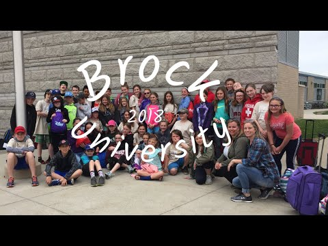Our trip to Brock University