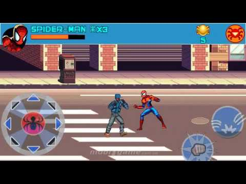 Spider-Man Toxic City mobile java games