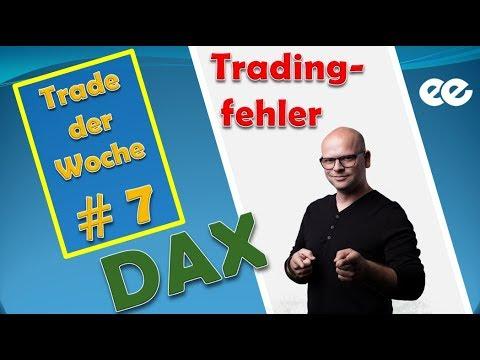 Trading lernen im DAX Future - TRADE DER WOCHE 45 - MEEGA TRADING