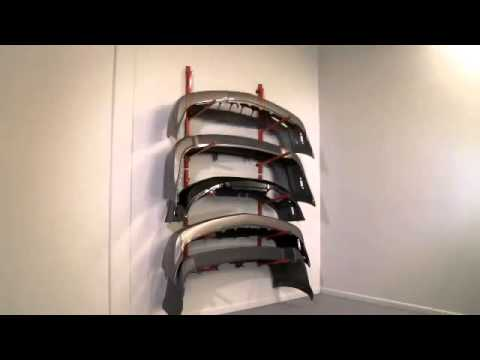 innovative wall bumper cover storage rack at grade a tools