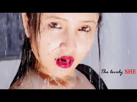 Mehuly Sarkar Hot Shoot in Transparent Saari Without Blouse bra