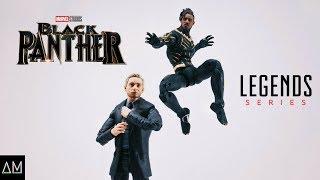 Marvel Legends Black Panther: Everett Ross and Erik Killmonger Review