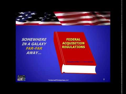 Federal Government Contracting: It's a Whole New World