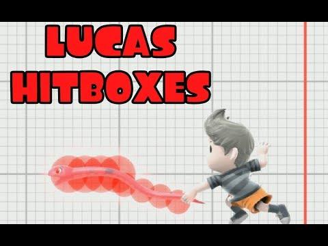 Lucas hitboxes (Super Smash Bros Ultimate) thumbnail