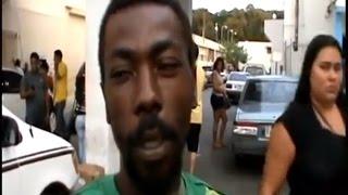 Haitian gets hand chopped by fellow countryman. Haitian vs Haitians in Dominican Republic