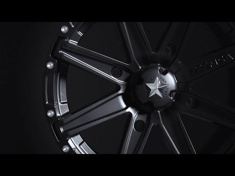 MSA Wheels - M33 Clutch UTV Wheels in Satin Black