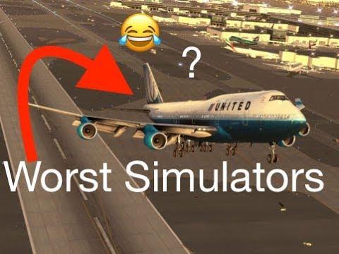 TOP 3 WORST Flight Simulators #2