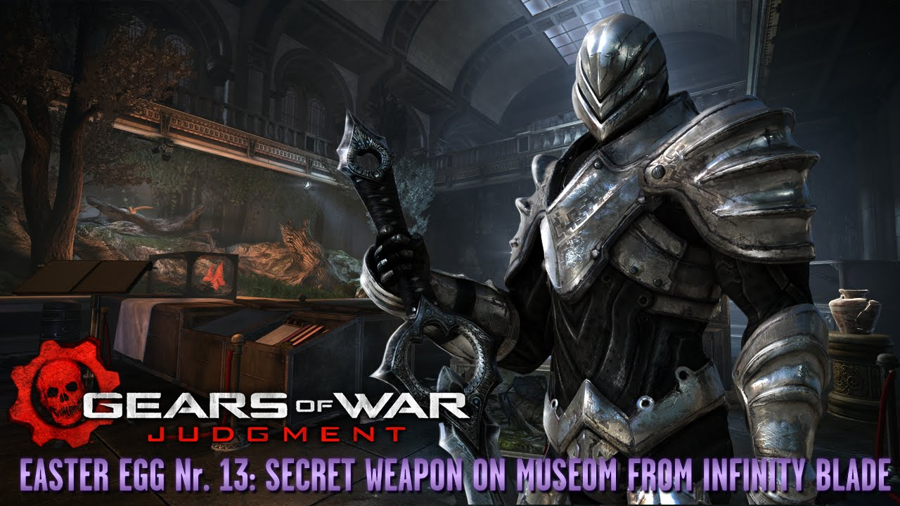 Gears Of War Judgment Easter Egg 13 Secret Weapon On