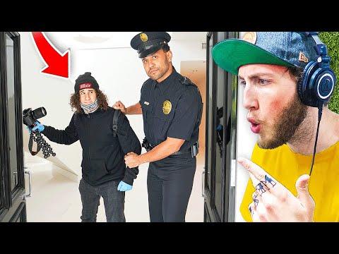 Crazy Fan Breaks Into FaZe House (Arrested)