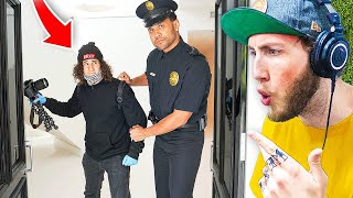 Crazy Fan Breaks Into FaZe House (Arrested)