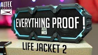 Altec Lansing Life Jacket 2 - Live Drop Test !