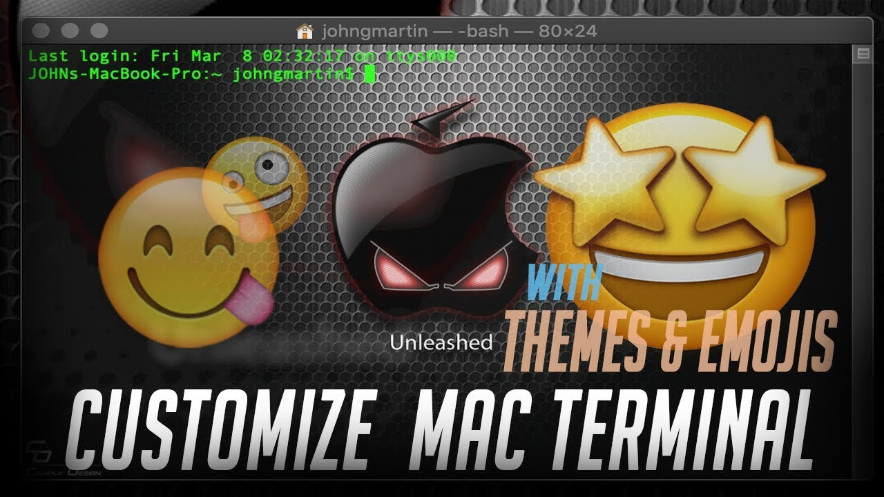 How To Customize Mac Terminal - EliteXCoders - Swift - Xcode - Tutorials