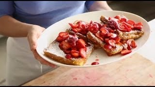 Peanut Butter-stuffed French Toast | Everyday Food With Sarah Carey