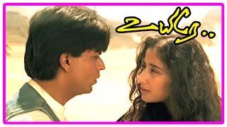 Uyire Tamil Movie Scenes | Manisha Koirala lies Shah Rukh Khan is her husband | Arundhati Rao