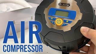 Dr. Meter Portable Digital 12V Tire Inflator Air Compressor Pump Review