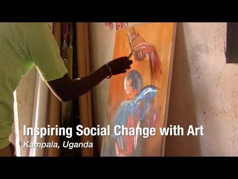 Inspiring Social Change with Art in Kampala, Uganda