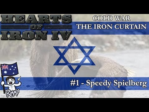HOI4 Cold War: The Iron Curtain - Israel #1 - Speedy Spielbe