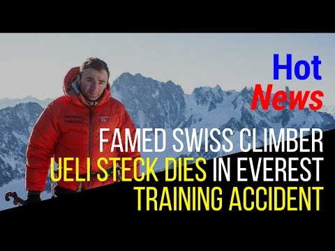 Ueli Steck accident  swiss climber ueli steck  ueli steck died