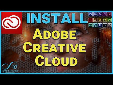 How To Install Adobe CREATIVE CLOUD And Any Adobe App (Photoshop, Premiere)