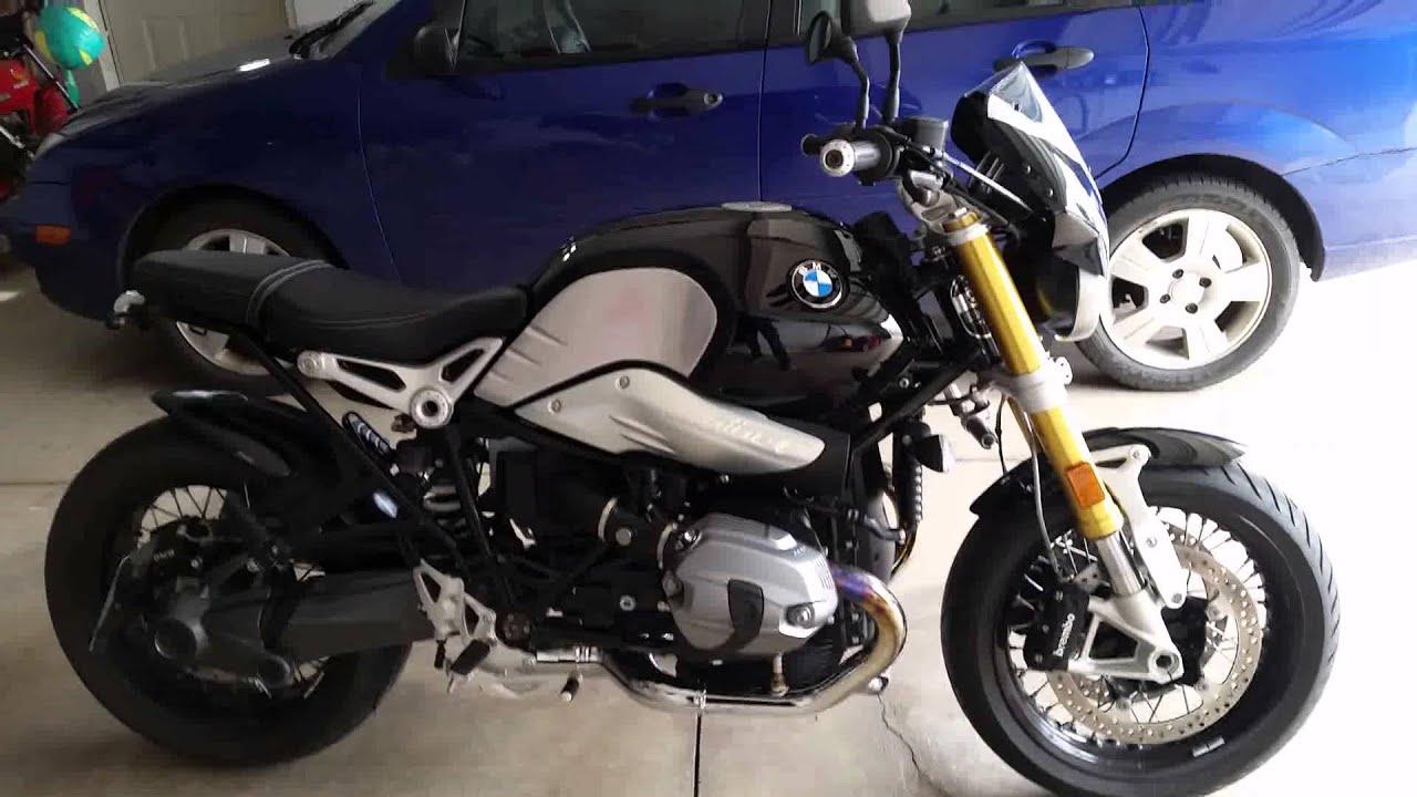 BMW Nine T >> BMW R Nine T Puig Flyscreen Install - YouTube