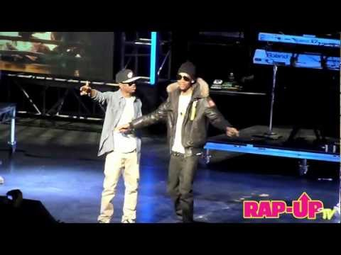 Big Sean and Wiz Khalifa Perform GangBang at Cali Christmas