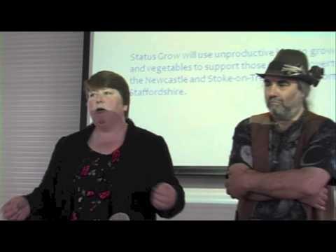 JANE FAYRE & ALAN BARRATT TEDx Stoke