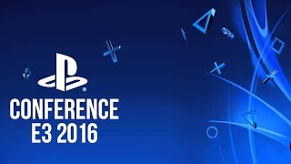 Sony Playstation Conference - E3 2016