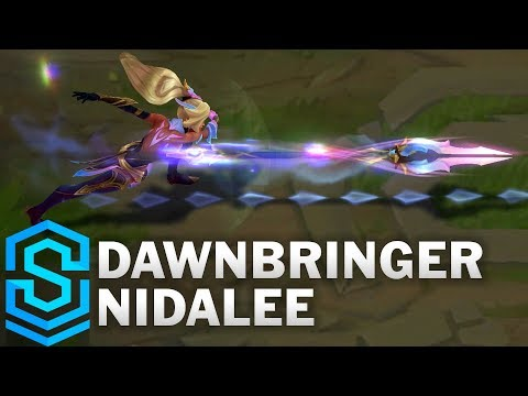Dawnbringer Nidalee Skin Spotlight - Pre-Release - League of Legends