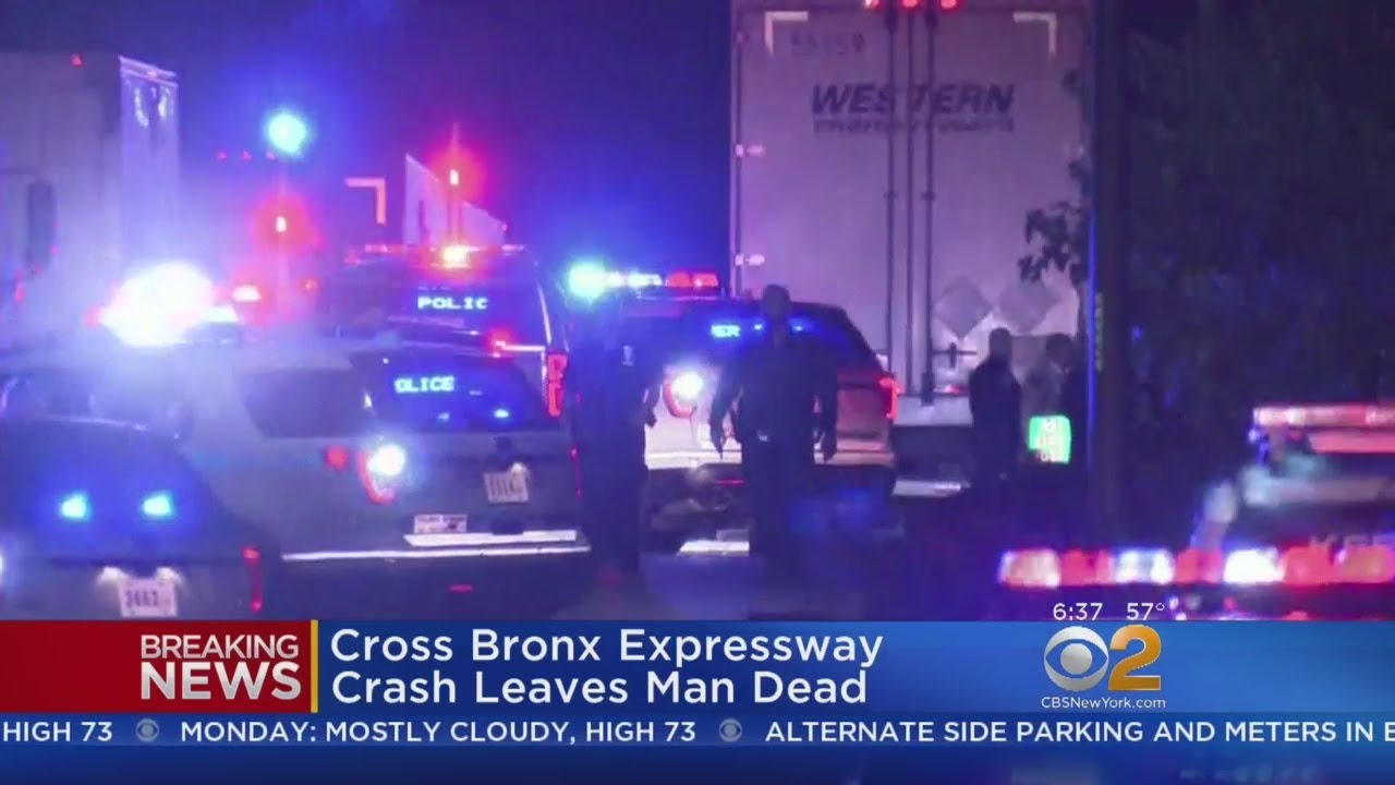 Man Killed In Crash On Cross Bronx Expressway