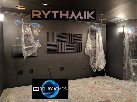 home theater [update #11] - installing 4 channel dolby atmos speakers & a third rythmik subwoofer?!