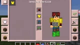 minecraft pe -comment changer de couleur a son armure en cuir
